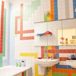 цветовете на банята