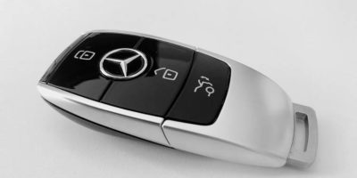Подмяна на батерията в ключа за запалване на Mercedes