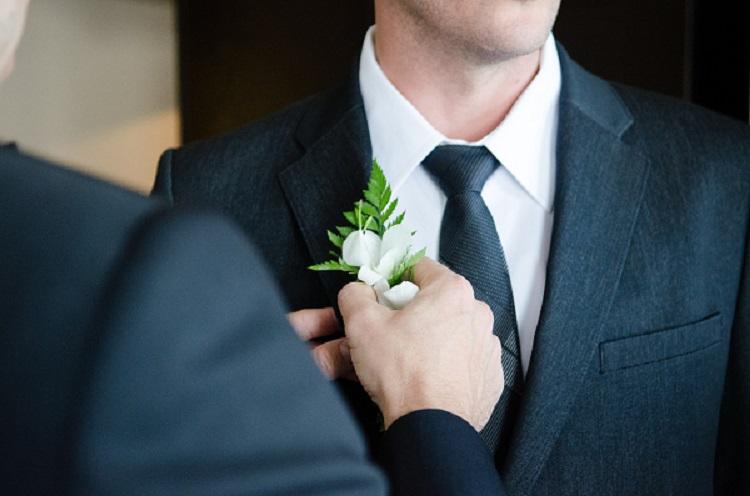 Мъжете и тяхната сватба.
