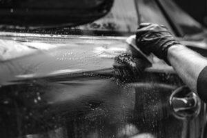 полирането на автомобила